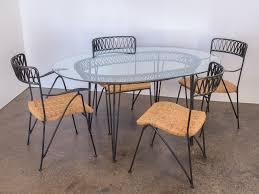 Salterini Patio Furniture Salterini Woven Ribbon Chairs And Table Patio Set U2014 Oam