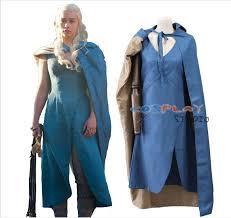 Game Thrones Halloween Costumes Khaleesi Cheap Game Thrones Halloween Costume Aliexpress