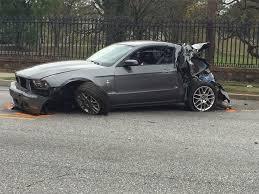 Black Mustang Crash Survivor Of Fatal Bus Crash Says He U0027s Happy To Be Alive But