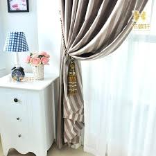 Luxury Grey Curtains White Suede Eyelet Curtains High Grade Modern Style Thermal