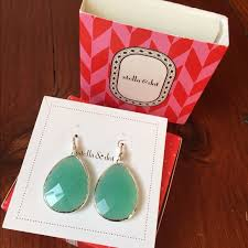 serenity earrings 45 stella dot jewelry stella dot aqua serenity drop