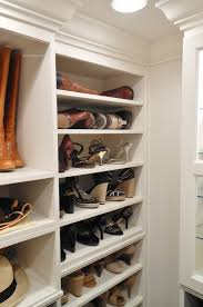 small closet organization with tips white shoe storage in and