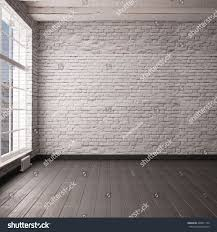 Concrete Loft Mockup Empty Interior Loft Style 3d Stock Illustration 428911126
