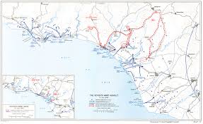 Battle Of Kursk Map Allied Invasion Of Sicily