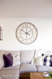 50 rustic oversized wall clocks that are big on size but small