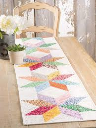 zig zag table runner rustic table runners with star coma frique studio ea9b90d1776b