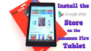 amazon fire tablet how to install the google play store fire