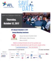 Save The Date Website Annual Meeting 10 12 17 Save The Date U2013 Dd Edit Airport Area