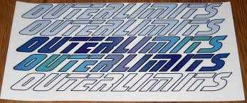 for sale outerlimits stickers for both sides of your offshore 11 5