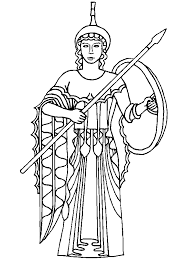 greek king colouring pages coloring