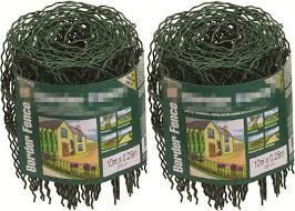 decorative 0 65m 10m garden border wire fencing mesh roll with