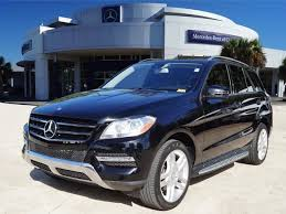 preowned mercedes suv pre owned 2014 mercedes m class ml 350 suv in league city