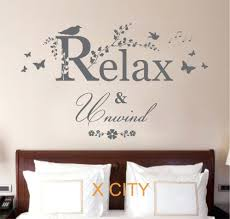 wall stencils for painting words alternatux com relax unwind quote creative vinyl wall decal art decor sticker room stencil mural s m lchinawall stencils