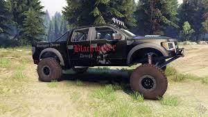 jeep truck prerunner raptor pre runner v1 1 blackwater for spin tires