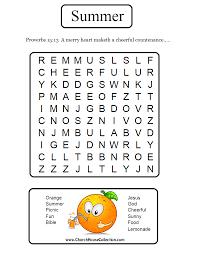 summer orange proverbs sunday lesson