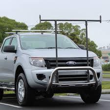 ford ranger ladder racks ford ranger nudge bar with ladder rack custom utes nz