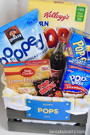 fathers day basket happy pops day s day gift idea fantabulosity