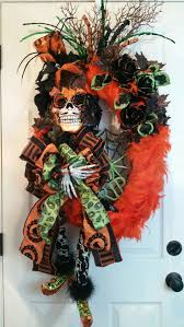 119 best halloween wreaths images on pinterest halloween wreaths