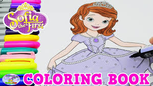 disney coloring book princess sofia episode surprise egg
