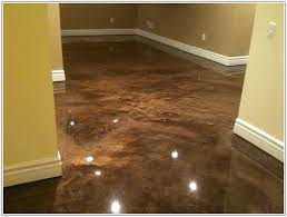 epoxy paint concrete basement floor flooring home decorating