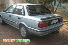 toyota corolla used for sale 1989 toyota corolla used car for sale in vereeniging gauteng south