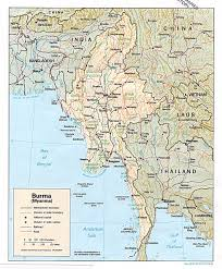 Abbreviated Map Of The United States by Online Burma Library U003e Reading Room U003e Maps And Satellite Imagery