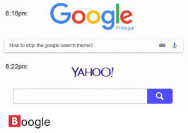 Google Memes - google 816pm how to stop the google search meme 822pm yahoo