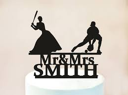 baseball wedding cake toppers baseball wedding cake topper wedding cake toppermr and mrs