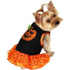 Big Dog Halloween Costume Pumpkin Dress Dog Halloween Costume Walmart