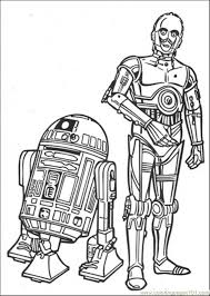 robots coloring free star wars coloring pages
