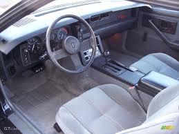 chevrolet camaro 1985 gray interior 1985 chevrolet camaro iroc z photo 44741379