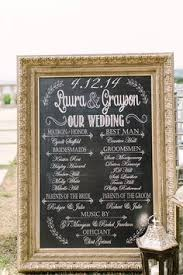 Chalkboard Wedding Program Chalkboard Wedding Program Sign Handmade Wedding Pinterest