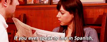 Parks And Rec Meme - parks and recreation april ludgate gif parks and recreation gustins