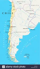 Map Of Uruguay Argentina Political Map With Capital Buenos Aires National