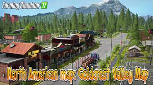 North America Biome Map by Farming Simulator 17 North American Map Goldcrest Valley Map