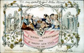 news years cards oldest christmas card smu