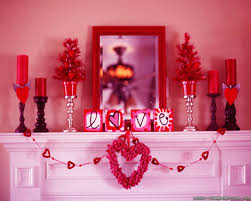 Red Home Decor Valentines Ideas For Home Zamp Co