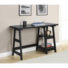 White Contemporary Desks by Tables Modern Desks Home Styles Modern Craftsman Student Desk