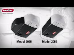 the steps how to install the genie model 7055 u0026 2055 garage door