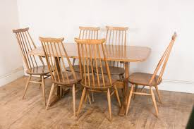pine dining chairs ebay solid pine rustic farmhouse table and 6