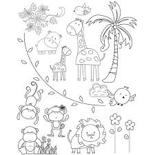 zoo coloring pages 87314 animals kids pedia art