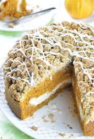 pumpkin coffee cake omg chocolate desserts
