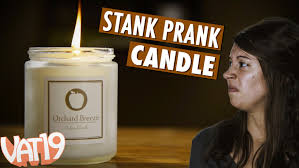 smelly prank candle youtube