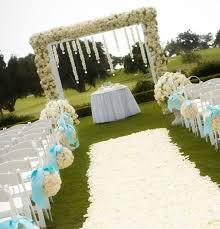 used outdoor wedding decorations wedding arches ceremonies