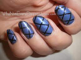 easy at home nail art 19 u2013 striping tape nail art for beginners