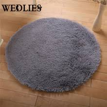 Shaggy Grey Rug Round Grey Rug Promotion Shop For Promotional Round Grey Rug On