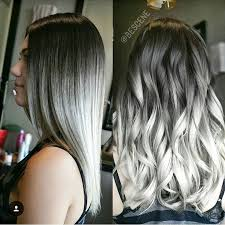 hilites for grey or white hair best 25 white ombre hair ideas on pinterest white ombre white