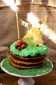 kara u0027s party ideas camping themed birthday party