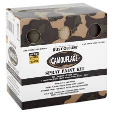 rust oleum camouflage 6 pack spray kit walmart com