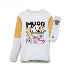 Doge Halloween Costume Lovely Muco Cosplay Japanese Doge Pattern Anime Shirt Funny